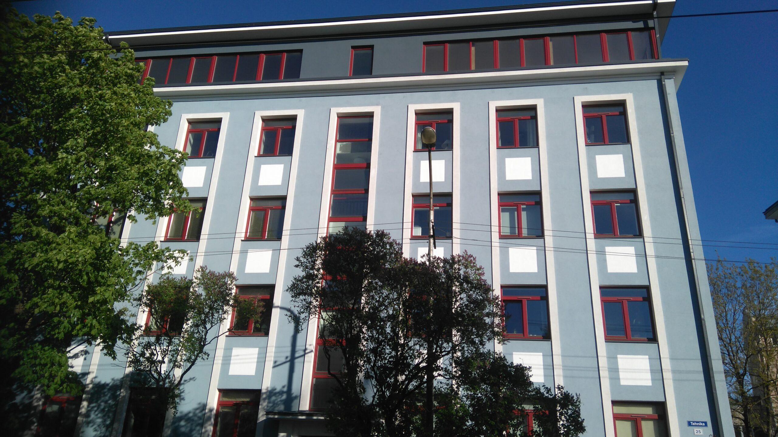 Viienda korruse fassaadi kujundamine.Tehnika tn / Kevad 2017